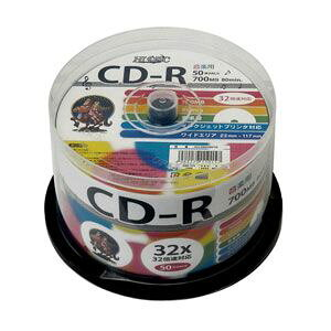 HDCR80GMP50 HIDISC 音楽用CD-...