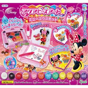 AQ-S36 アクアビーズアート☆ ミニーマウスセット エポック社 [AQ-S36 ミニーマウスセット]【Disneyzone】【返品種別B】