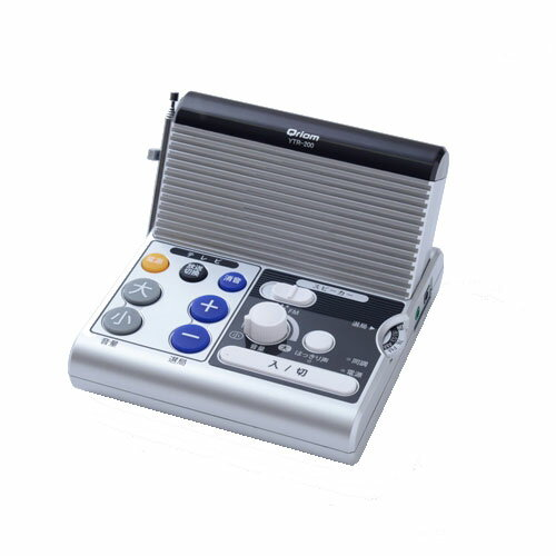 YTR-200 キュリオム リモコン機能付きテレビ用手元スピーカー Qriom