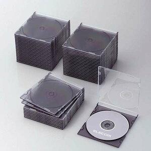 Blu-ray/DVD/CDケース スリム/PS/1枚収納 CCD-JSCS50