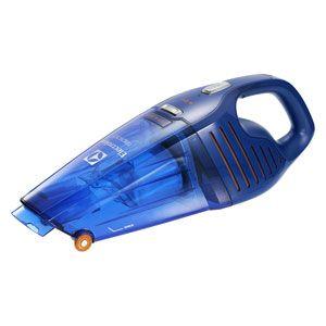ZB5104WD エレクトロラックス 紙パックレス式ハンディクリーナー充電式 乾湿両用タイプディープブルー 【掃除機】Electrolux Rapido(ラピード ウェットアンドドライ)