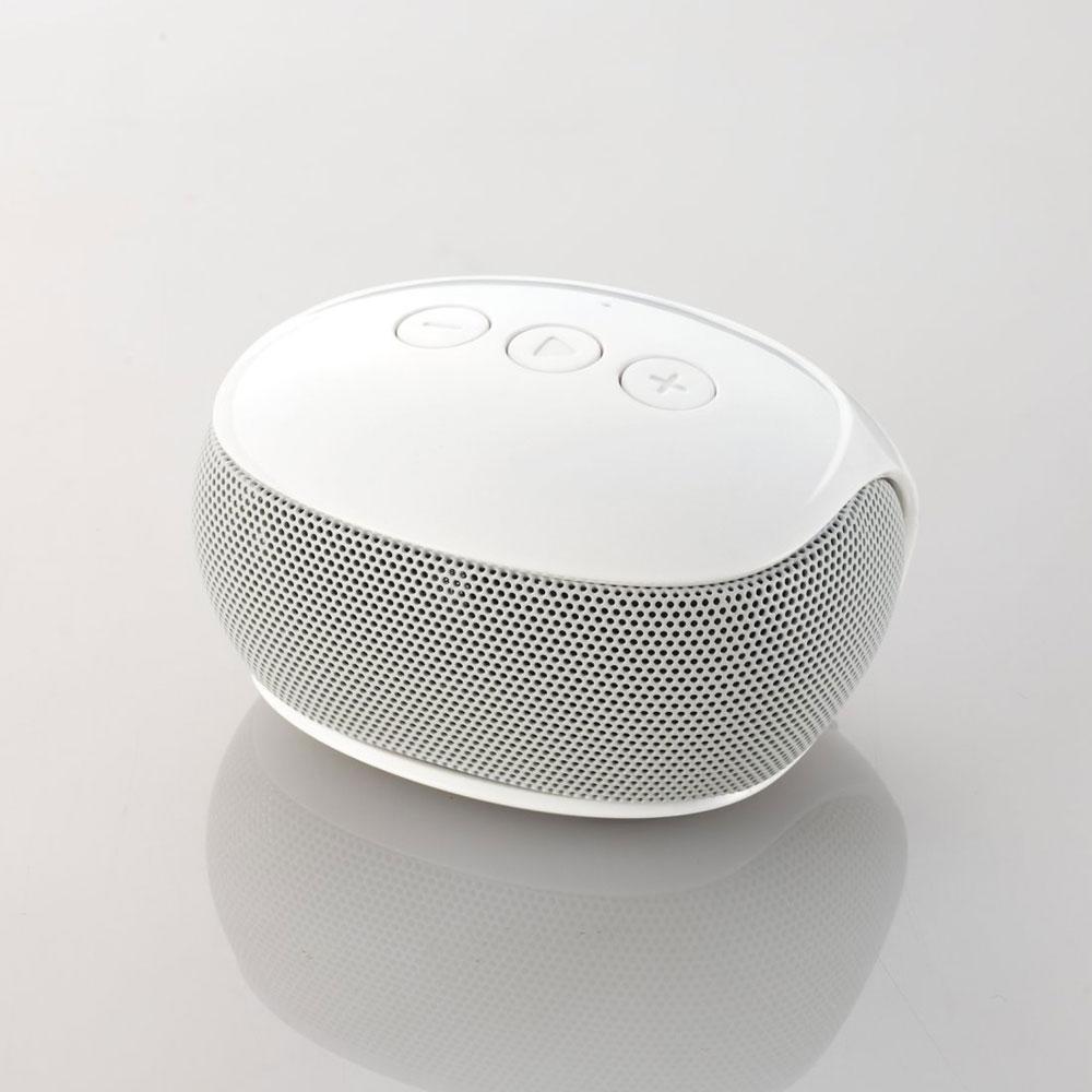 LBT-SPP20WH エレコム Bluetooth対応ワイヤレススピーカー(ホワイト) ELECOM [LBTSPP20WH]【返品種別A】
