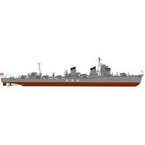 1/700 日本海軍 特型駆逐艦 朧(おぼろ)新WWII 日本海軍艦船装備セット7付【SPW28】 ピットロード [PT SPW28 オボロ カンセンソウビセット7]【返品種別B】