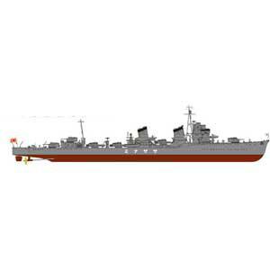 1/700 日本海軍 特型駆逐艦 漣(さざなみ)新WWII 日本海軍艦船装備セット7付【SPW29】 ピットロード [PT SPW29 サザナミ カンセンソウビセット7]【返品種別B】