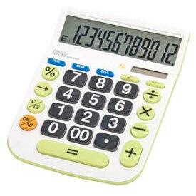 ECD-8503G ナカバヤシ 卓上電卓 12桁 デスクトップ大型キータイプL