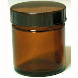 13-664-9020 生活の木 茶色ガラス・クリーム容器(50ml) [136649020]