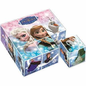 ディズニー アナと雪の女王 キューブパズル 9コマ アポロ社 【Disneyzone】