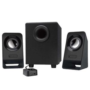 Z213 ロジクール 2.1chスピーカーシステム(ブラック) Logicool Multimedia Speakers [Z213]【返品種別A】