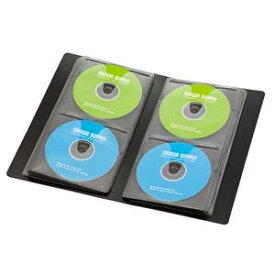 FCD-FLBD64BK サンワサプライ ブルーレイディスク対応ファイルケース(64枚収納・ブラック)