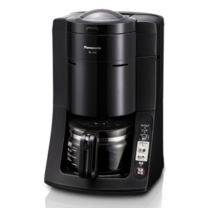 NC-A56-K パナソニック 沸騰浄水コーヒーメーカー ブラック Panasonic [NCA56K]【返品種別A】