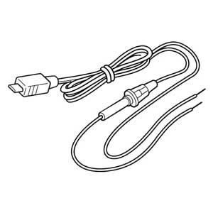 OP-9U ユピテル 電源直結コード (ストレートミニプラグDC12V出力) YUPITERU