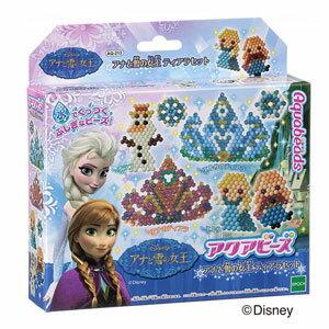 AQ-213 アクアビーズアート☆ アナと雪の女王ティアラセット エポック社