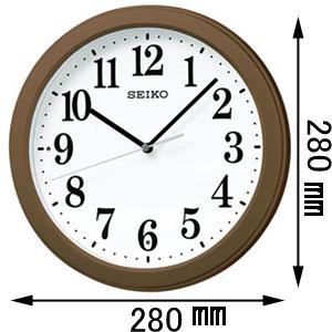 KX379B セイコークロック 電波掛時計 [KX379B]【返品種別A】
