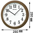 KX379B【税込】 セイコークロック 電波掛時計 [KX379B]【返品種別A】【RCP】