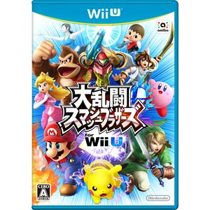【Wii U】大乱闘スマッシュブラザーズ for Wii U 任天堂 [WUP-P-AXFJ]【返品種別B】