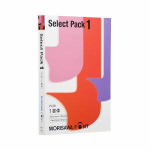 MORISAWA Font Select Pack 1 モリサワ 【返品種別B】