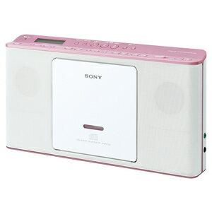 ZS-E80-P ソニー CDラジオ(ピンク) SONY [ZSE80P]【返品種別A】