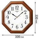 KX389B セイコークロック 電波掛時計 [KX389B]【返品種別A】【送料無料】