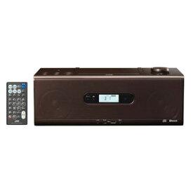 RD-W1-T JVC Bluetooth対応 CDポータブルシステム(ブラウン)