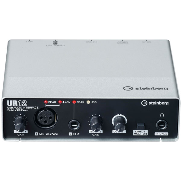 UR12 スタインバーグ USBオーディオインターフェイス steinberg