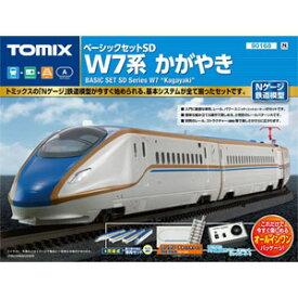 [鉄道模型]トミックス 【再生産】(Nゲージ) 90168 ベーシックセットSD W7系かがやき