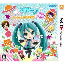 【3DS】初音ミク Project mirai でらっくす セガ [CTR-P-BRXJ]