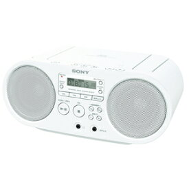 ZS-S40-W ソニー CDラジオ(ホワイト) SONY