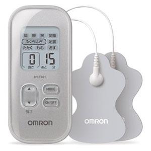 HV-F021-SL オムロン 低周波治療器(シルバー) OMRON [HVF021SL]【返品種別A】