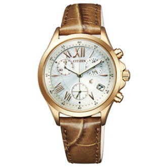 FB1402-05 A citizen cloth-eco-drive chronograph ladies type [FB140205A]