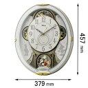 ミッキー&フレンズM509-03 リズム時計 からくり時計 【ディズニー】 4MN509MC03 [ミツキフレンズM50903]【返品種別A】