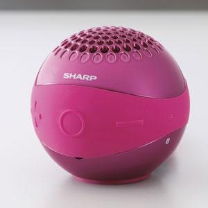 WS-BL1-P シャープ Bluetooth対応ワイヤレススピーカーシステム(ピンク) SHARP