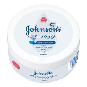 ジョンソン ベビーパウダープラスチック容器140g (生まれたその日から) ジョンソン・エンド・ジョンソン ジョンソン ベビーパウダー マ