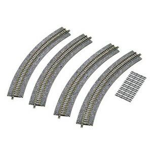 [鉄道模型]トミックス TOMIX (Nゲージ) 1772 ワイドPCカーブレールC317-45-WP(F) (4本セット) [トミツクス 1772 ワイドPCカーブレールC317-45-WP(F)]【返品種別B】