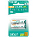 TNH-3LE-2P 東芝 ニッケル水素電池 単3形(2本入) TOSHIBA IMPULSE ライトタイプ