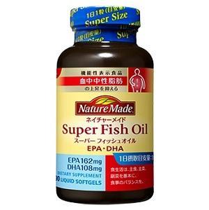 ネイチャーメイド スーパーフィッシュオイル(EPA/DHA)90粒 大塚製薬 NMス-パ-フイツシユオイル [NMスパフイツシユオイル]【返品種別B】