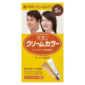 パオン クリームカラー 5G 自然な栗色 ヘンケルジャパン パオンクリ-ムカラ-5G