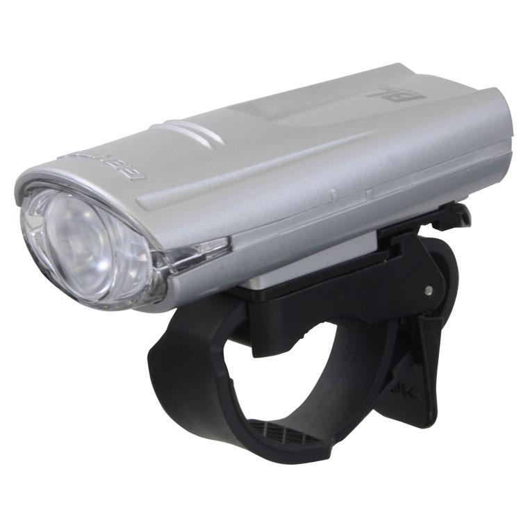 BL-350SR ジェントス 自転車用LEDライト(シルバー)80lm GENTOS BL Superior バイクライト