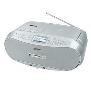 CFD-RS501 C ソニー CD/SD対応ラジカセ(シルバー) SONY