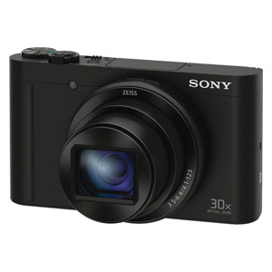 DSC-WX500-B ソニー デジタルカメラ「Cyber-shot WX500」(ブラック) [DSCWX500B]【返品種別A】