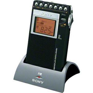 ICF-R354MK C ソニー ワイドFM/AM PLL シンセサイザーラジオ(充電キット付属モデル) SONY 山ラジオ [ICFR354MKC]【返品種別A】