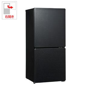 UR-F110H-K ユーイング 110L 2ドア冷蔵庫(ギャラクシーブラック)【右開き】 UING [URF110HK]【返品種別A】(標準設置料込)