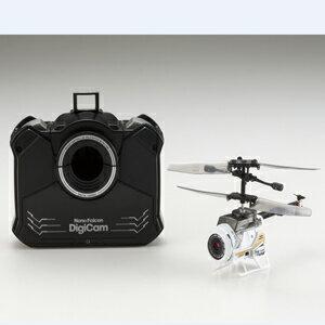 カメラ付き超小型ヘリコプター ナノファルコンデジカム【84729-WH】 シーシーピー [24GHZナノファルコンデジカム]【返品種別B】
