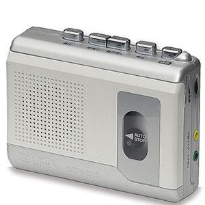 CTR-300 ELPA カセットテープレコーダー (録音・再生) エルパ [CTR300]【返品種別A】
