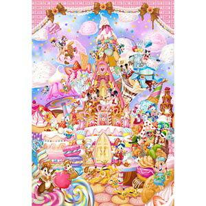 ディズニー ミッキーのスイートキングダム ピュアホワイト ぎゅっと266ピース ジグソーパズル テンヨー 【Disneyzone】