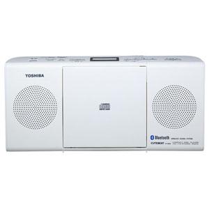 TY-CW26(W) 東芝 Bluetooth機能搭載CDラジオ(ホワイト) TOSHIBA [TYCW26W]【返品種別A】