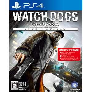 【PS4】ウォッチドッグス コンプリートエディション ユービーアイソフト [PLJM-84024ウォッチドッグス]