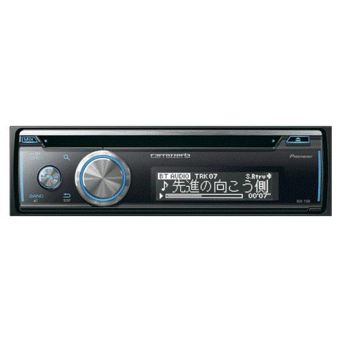 DEH-7100 パイオニア CD/Bluetooth/USB/チューナーメインユニット carrozzeria(カロッツェリア) 1Dメインユニット