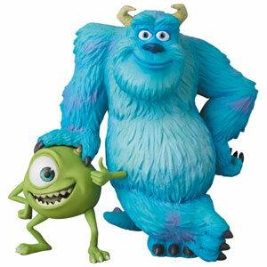 UDF Pixar サリー&マイク メディコム・トイ 【Disneyzone】