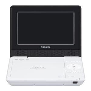 SD-P710SW 東芝 7型ポータブルDVDプレーヤーホワイトCPRM対応 TOSHIBA REGZA レグザポータブルプレーヤー
