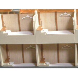 [鉄道模型]エヌ小屋 (HO) No.10855 TOMIX製 サンライズエクスプレス 室内シート(7両分)